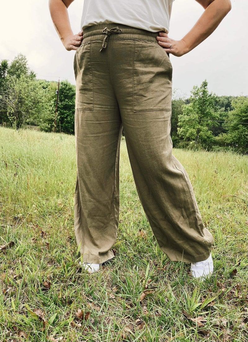 Beach Days Linen Pants