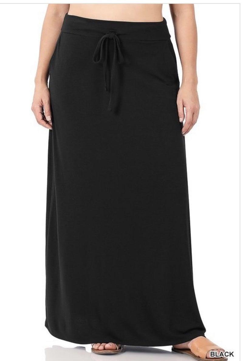 Not So Basic Maxi Skirt *Final Sale*