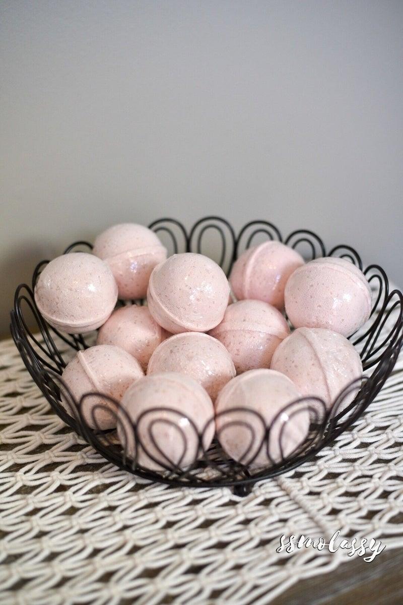 Watermelon Basil Hemp-Infused Large Fizzing Bath Soak with Swellness™ Fortune