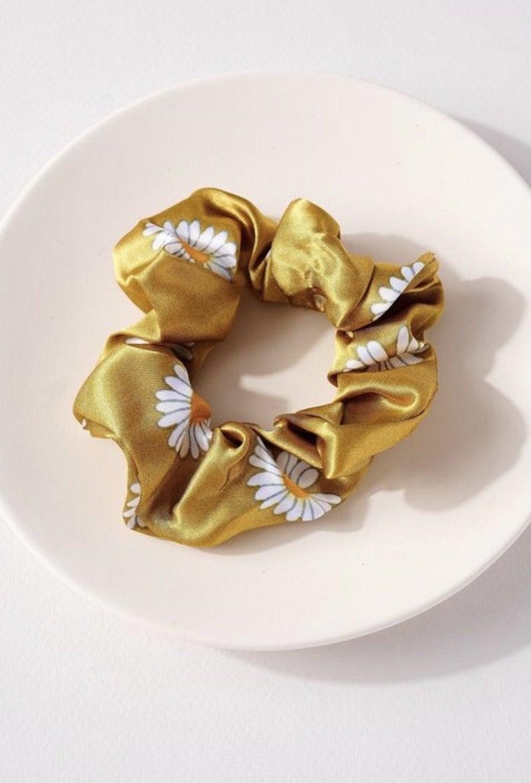 Sunflower Scrunchies