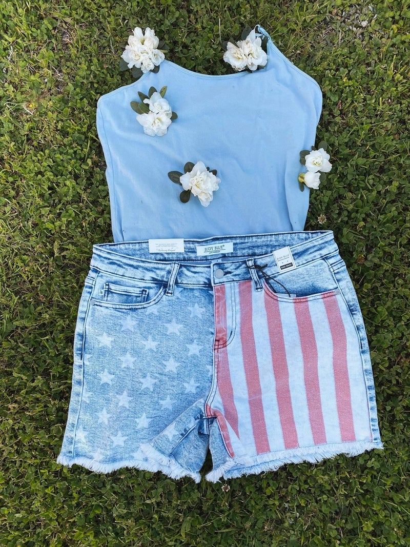 Red, White & Oh Yeah Shorts