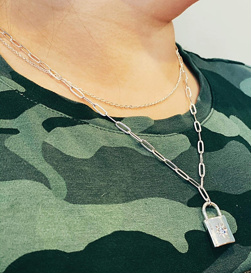 Keys to My Heart Necklace *Final Sale*