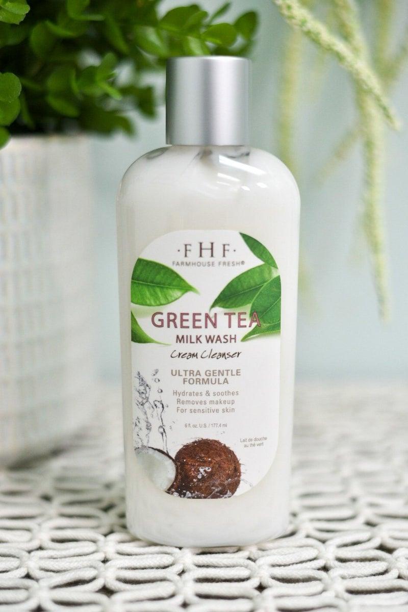 Green Tea Milk Wash