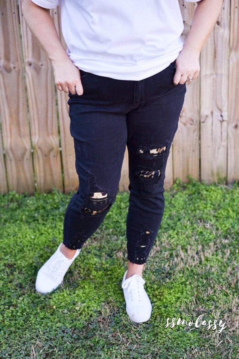 Walking on the Edge Denim Jeans *Final Sale*