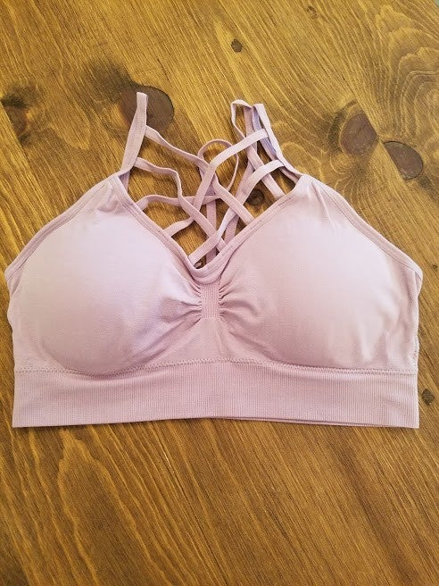 Lilac Caged Bralette * Black Friday Deal* Final Sale