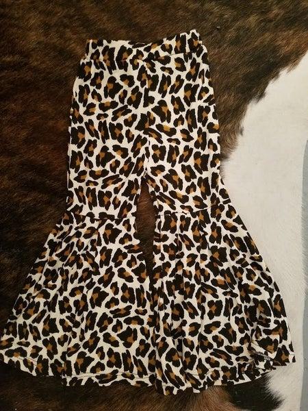 Girls Leopard Bells