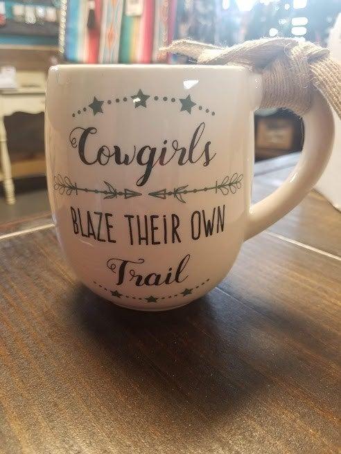 Cowgirls Blaze Their Own Trail Mug