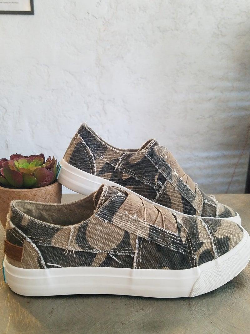 Natural Camoflauge Blowfish Shoes