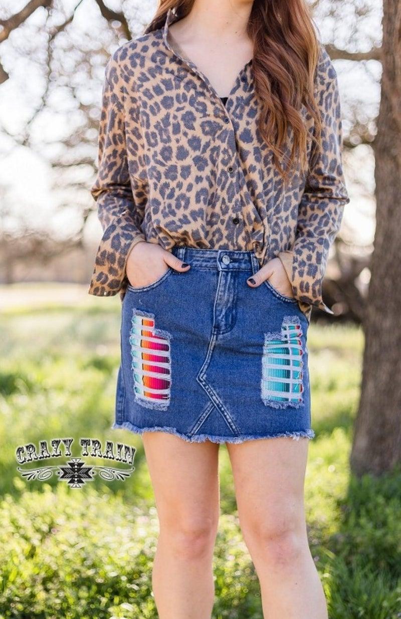 Lollipop Skirt**Serape