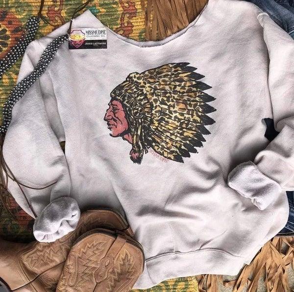 Leopard Indian Sweatshirt