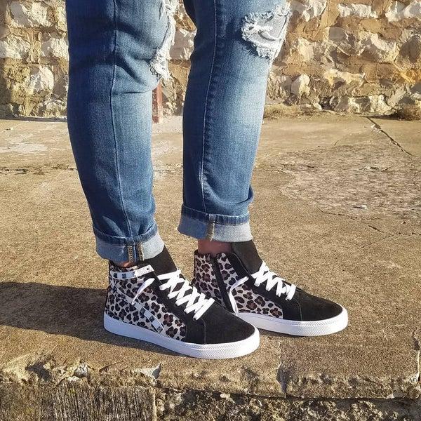 Gaby Leopard Sneakers
