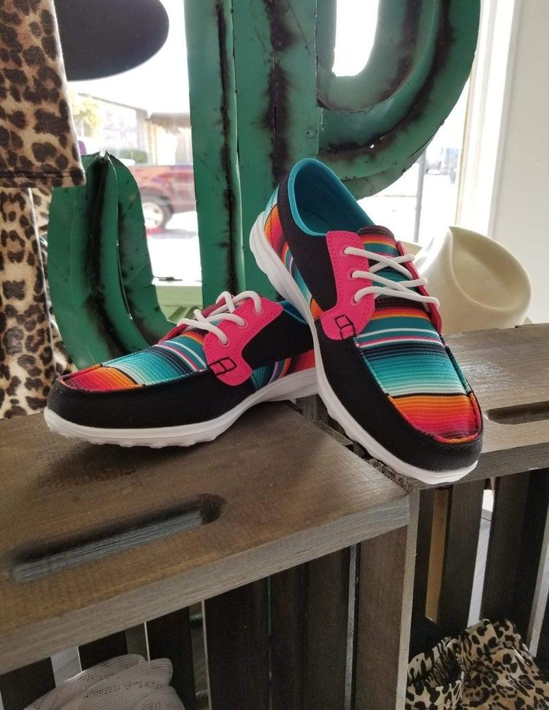 Stay in Line Walker Shoes* Serape