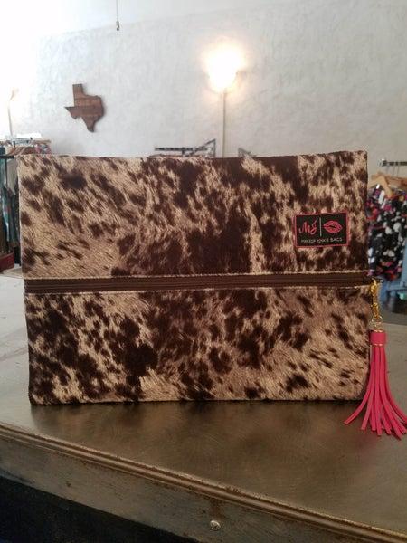 MJ Large-  The Lola Chocolate Bag