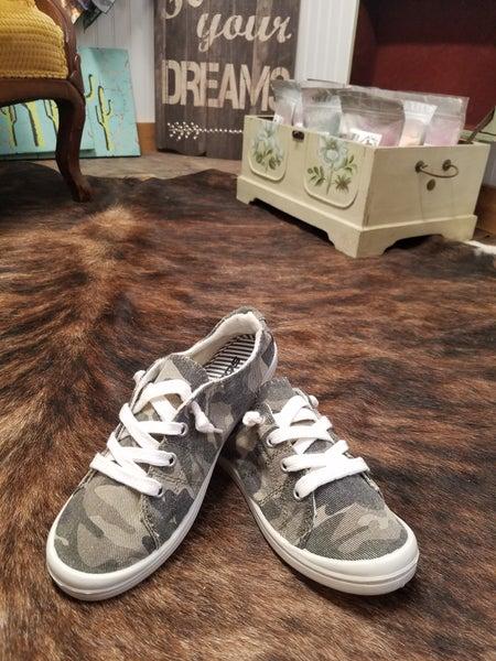 Camo Tennis Shoes