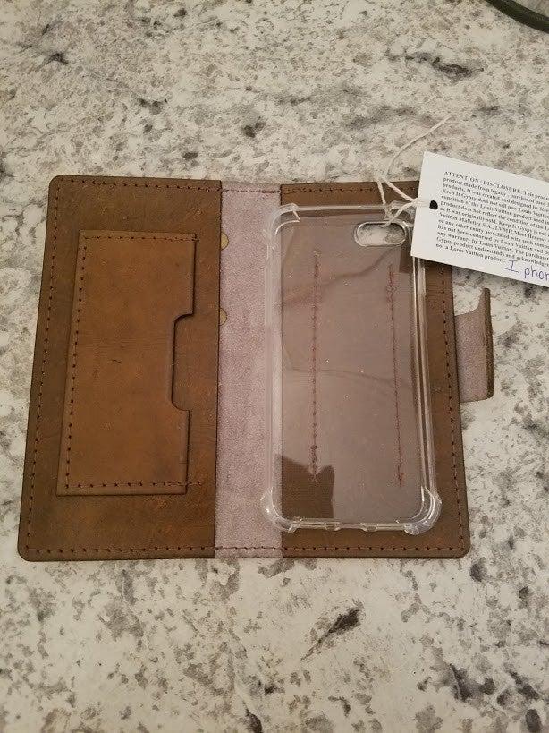 IPhone 7/8 Up-cycle LV Case