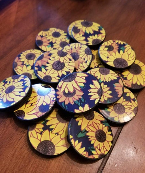 Sunflower Pop Socket