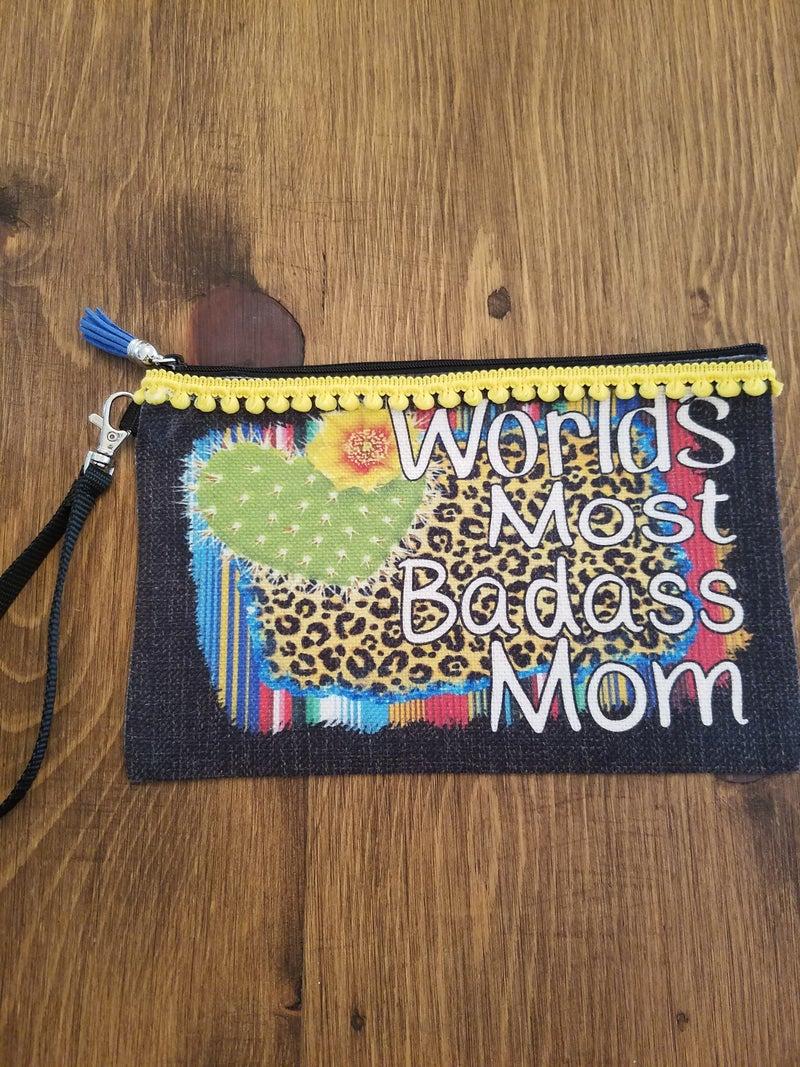 Bad *ss Mom Makeup Bag