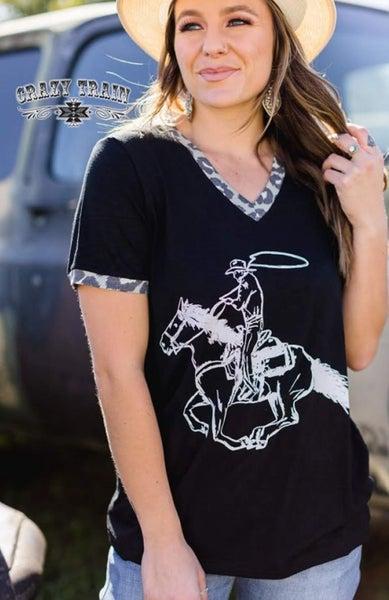 Stay Cool Cowboy Top/Tee