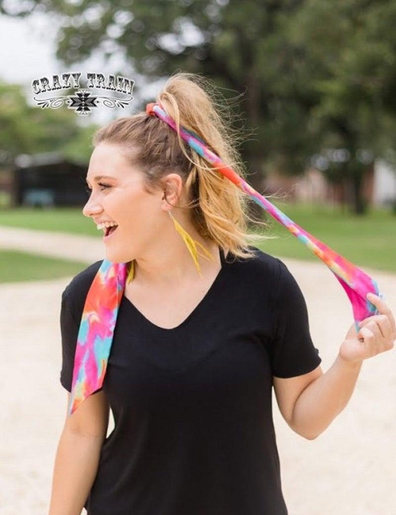 Dye Hard Headscarf  **Tie Dye
