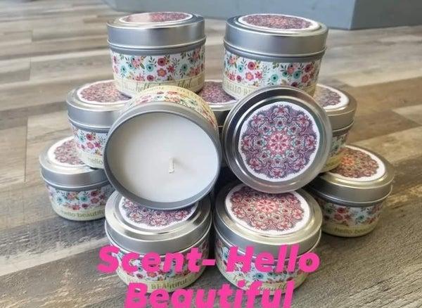 Hello Beautiful l 4 oz candle