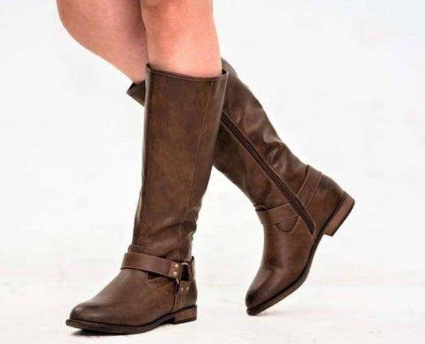 """Kicking Dirt"" Women's Brown Boot"