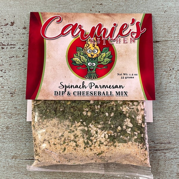 Spinach Parmesan Dip & Cheeseball Mix
