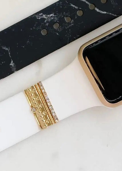 Gold Watch Band Charms