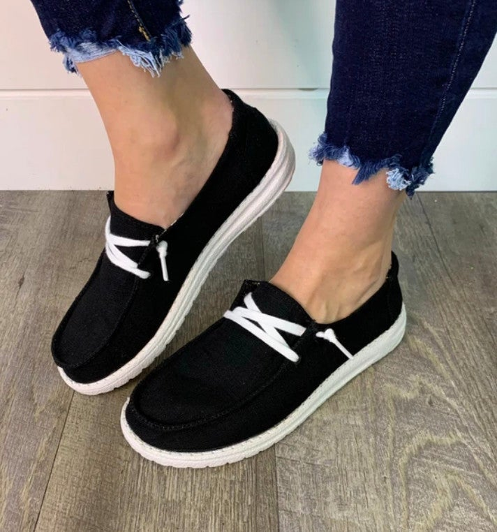 Holly Gypsy Jazz Black Sneakers