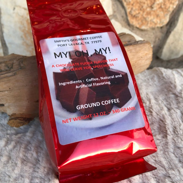 Chocolate Fudge Gourmet Ground Coffee - My! Oh, My!