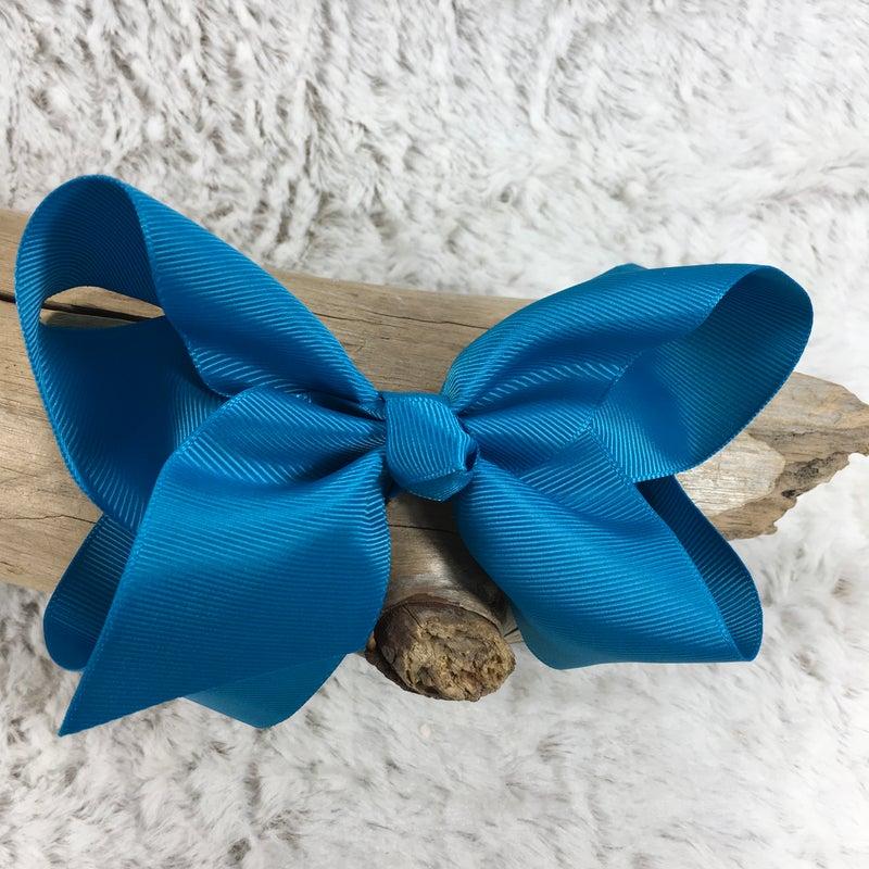 Medium Dark Turquoise Bow