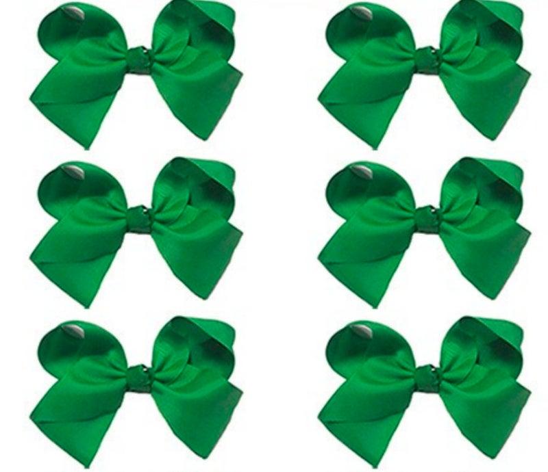 Medium Green Bow