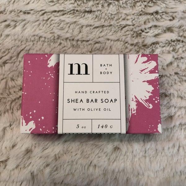 Mixture No 21 Stargazer Lily 5oz Bath & Body Shea Bar Soap