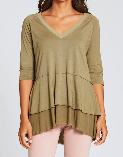 Evie Knit Top Watercress