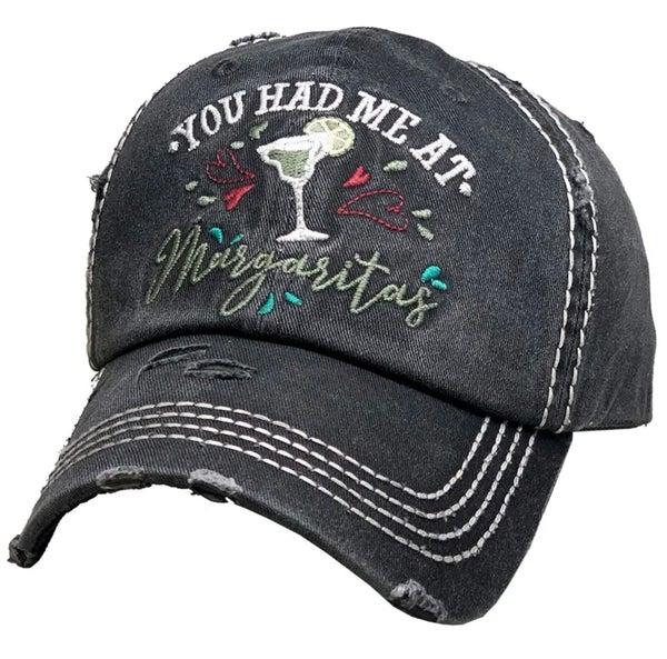 You Had Me At Margarita Charcoal Hat