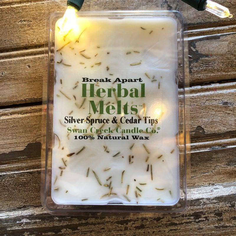 Swan Creek Silver Spruce & Cedar Tips Herbal Melts