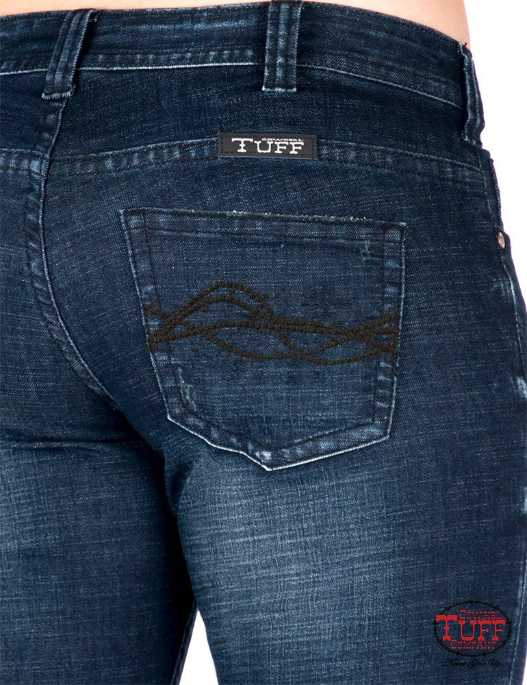 Cowgirl Tuff Sapphire Trouser Jeans SIZE