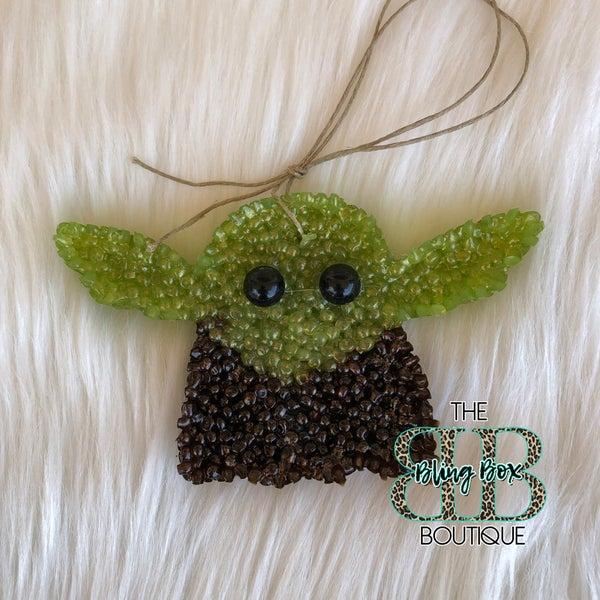 Baby Yoda - Red Clover Freshie
