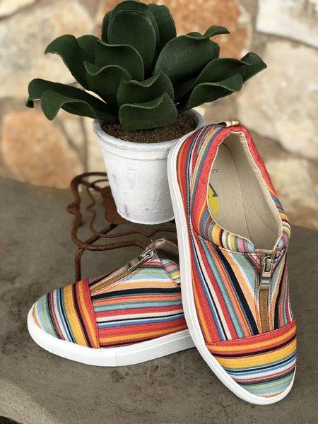 Lockey Spring Serape Sneaker SIZE