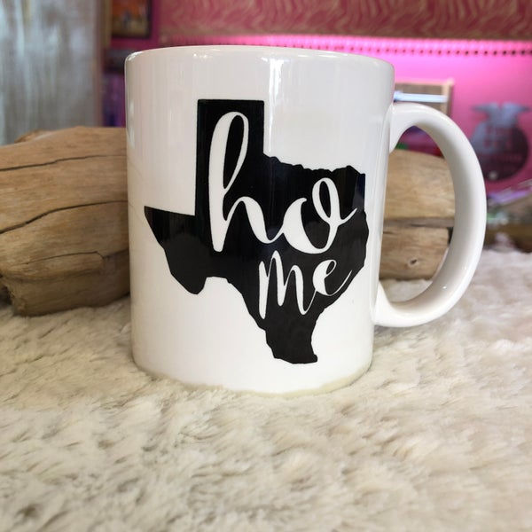 Texas Home State Coffee 11 oz Mug