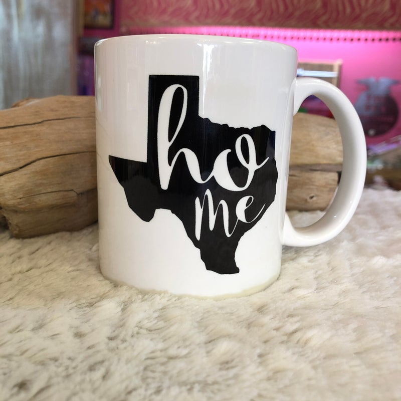 Texas Home State Coffee 11 oz Mug