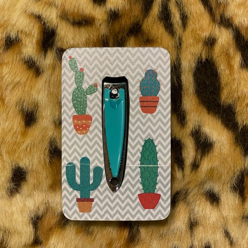 Cactus Chevron Clipper & Buffer Set