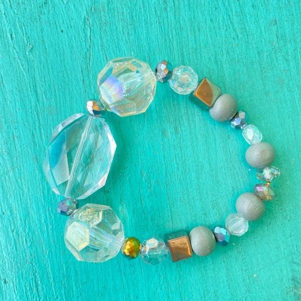 Bonnie Angela Clear Stretch Bracelet #2