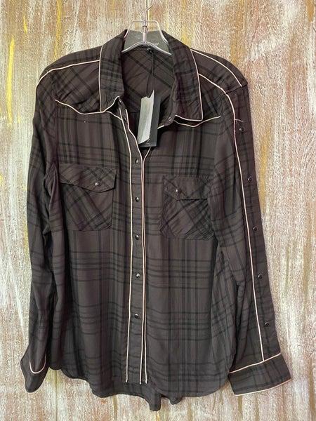 Star Western Style Shirt Shadow