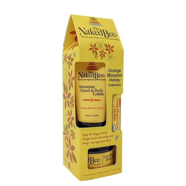 The Naked Bee Orange Blossom Honey Gift Collection