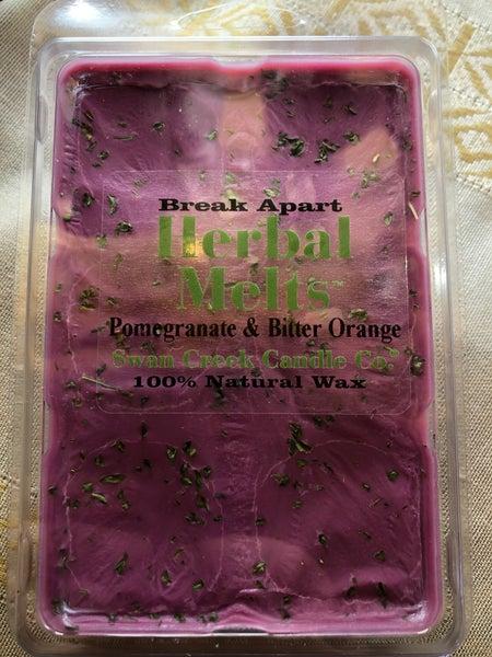 Swan Creek Pomegranate & Bitter Orange Herbal Melts