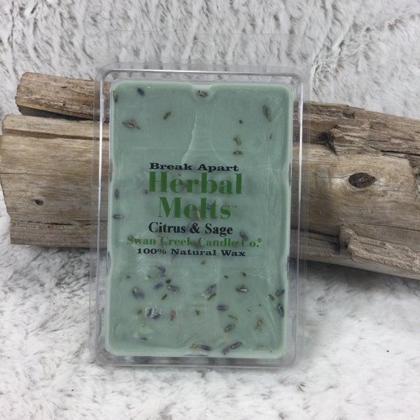 Swan Creek Citrus & Sage Herbal Melts