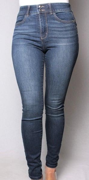 Dark Wash Skinny Sculpt Push Up Jeans
