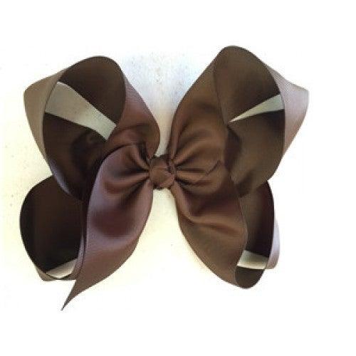 Medium Brown Bow