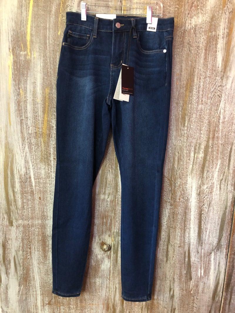 Judy Blue Dark Blue High Waist Skinny Jeans