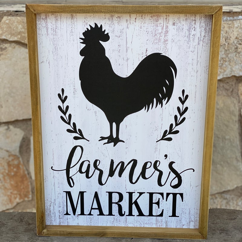 FARMERS MARKET ROOSTER PICTURE
